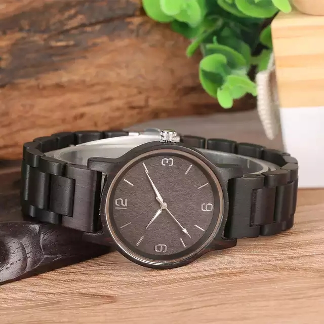 Handmade Natural Custom Logo Olive Wooden Watches For Men And Women