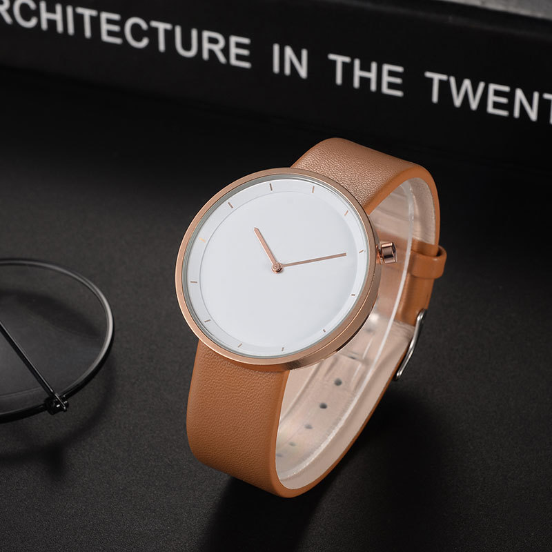 Slim Simple Waterproof Quartz Wrist watch