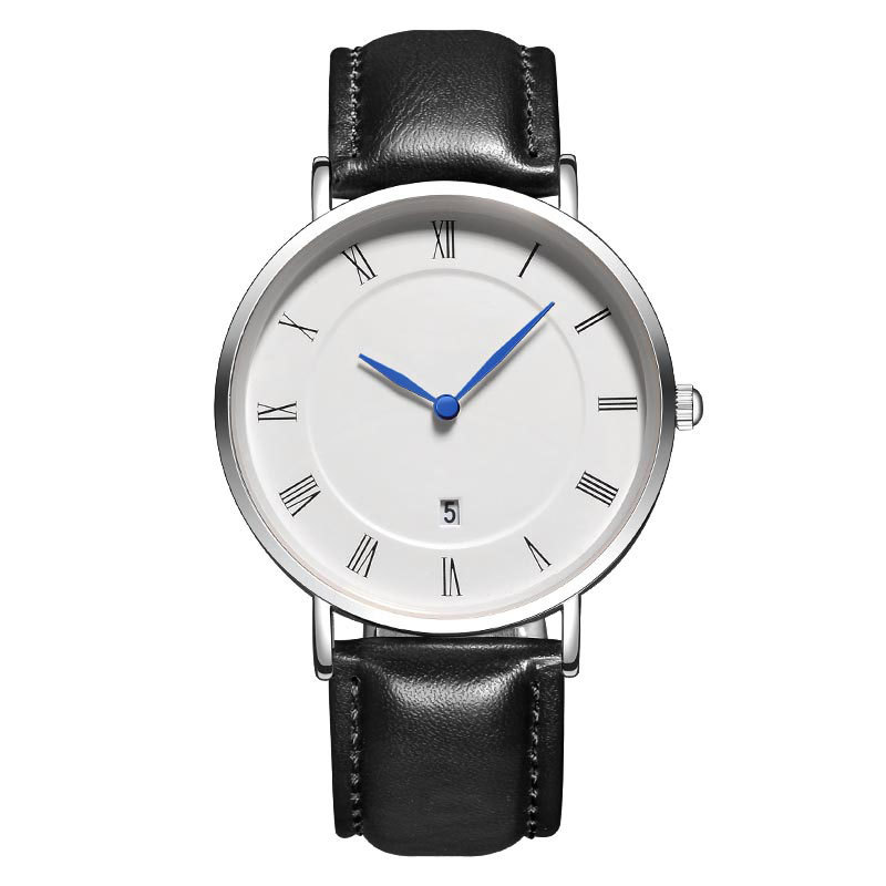 Fashion Japan Movement Watch Stainless Steel Back Water Resistant Watch