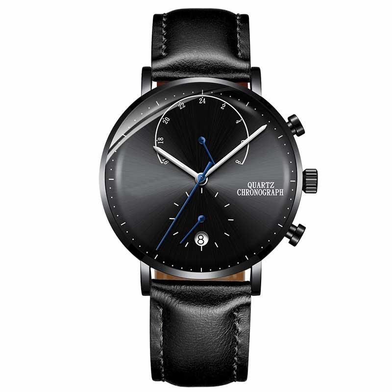 Minimalist Design Waterproof Chronograph Men Watch