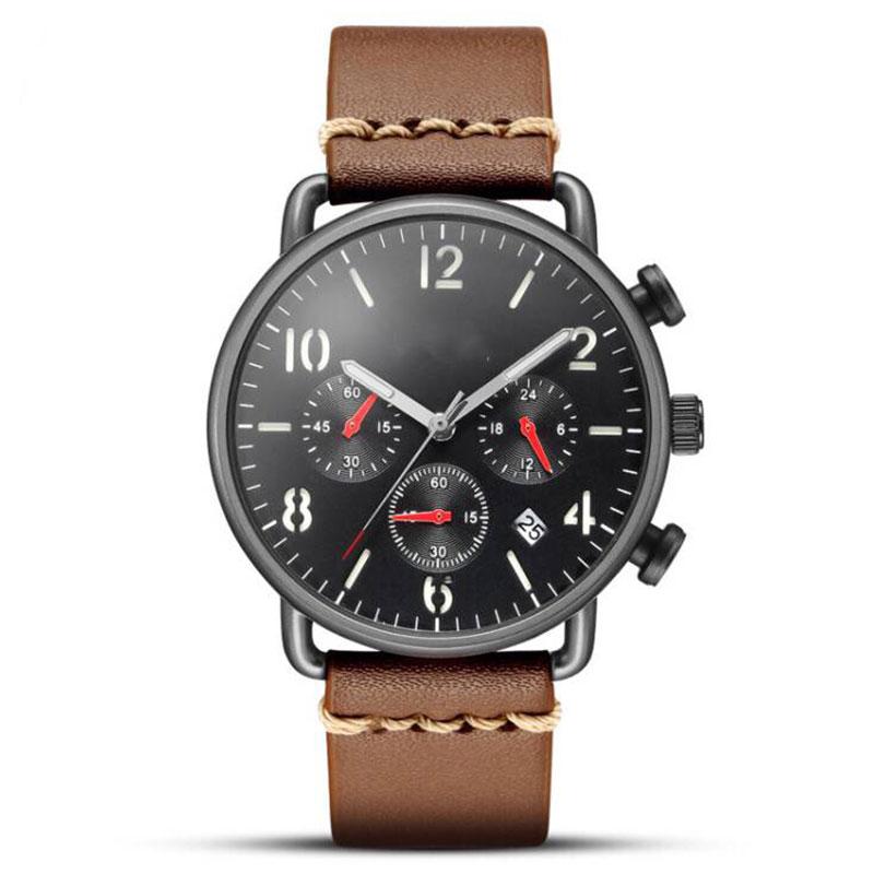 Luxury Chronograph Custom Fashion Men Wrist Watch