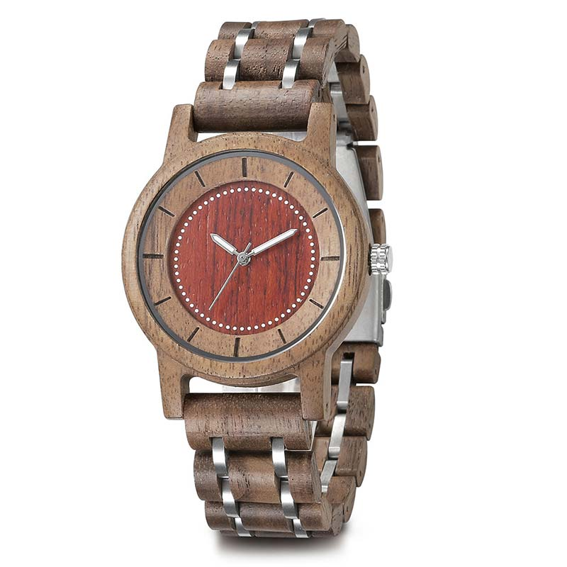 Natural Fashion Watch Handcraft Natural Wooden Watch 172