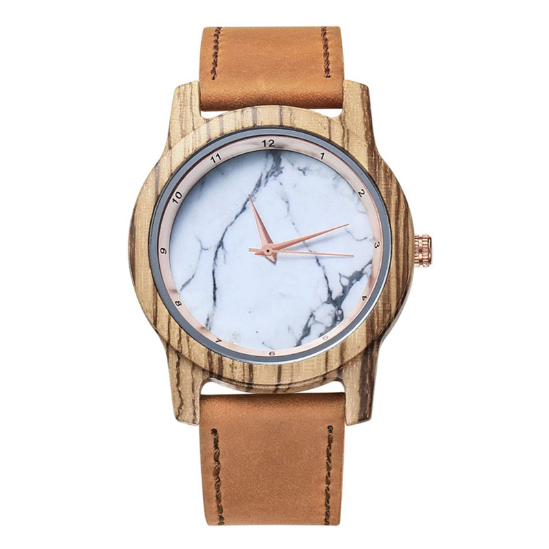 Natural Fashion Watch Handcraft Natural Wooden Watch 185