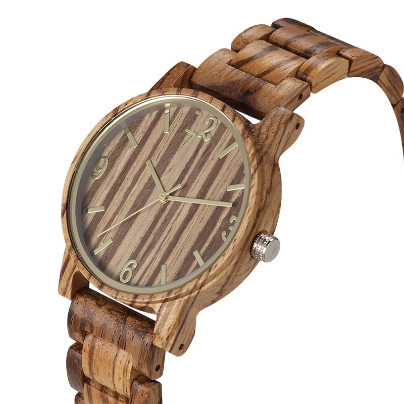 Natural Fashion Watch Handcraft Natural Wooden Watch 205