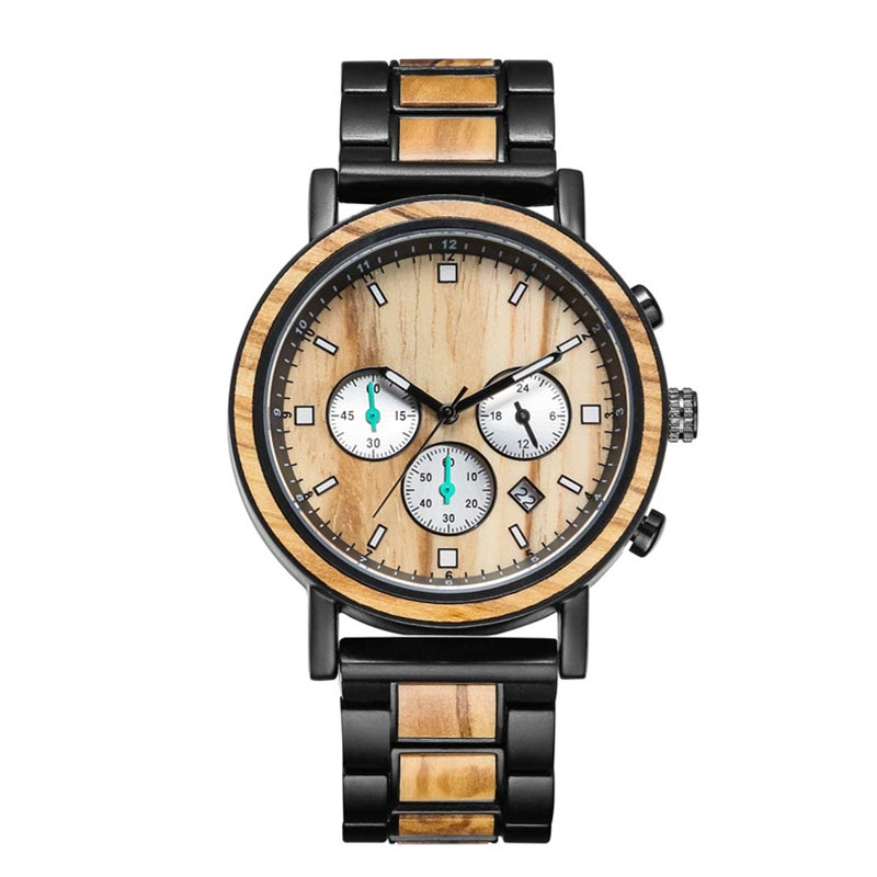 Natural Fashion Watch Handcraft Natural Wooden Watch 218
