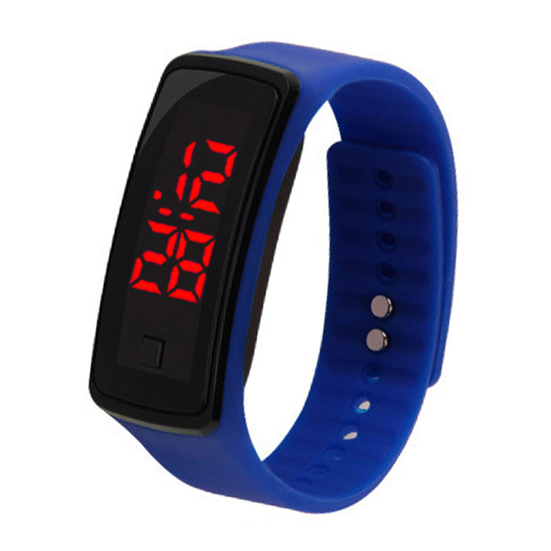 Fashion LED Silicone Electronic Wrist Watch