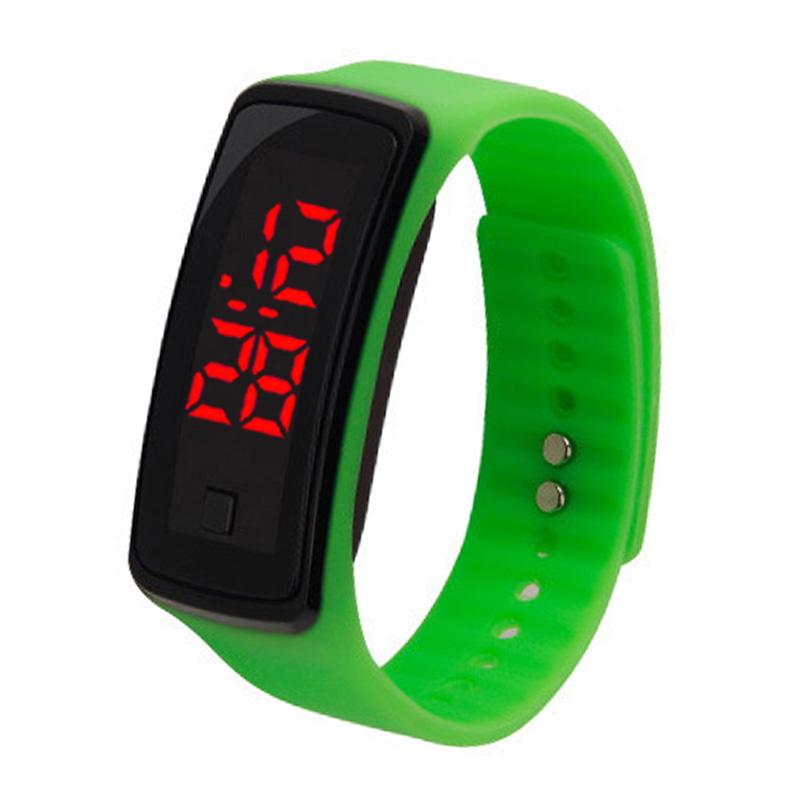 Fashion LED Silicone Electronic Wrist Watch