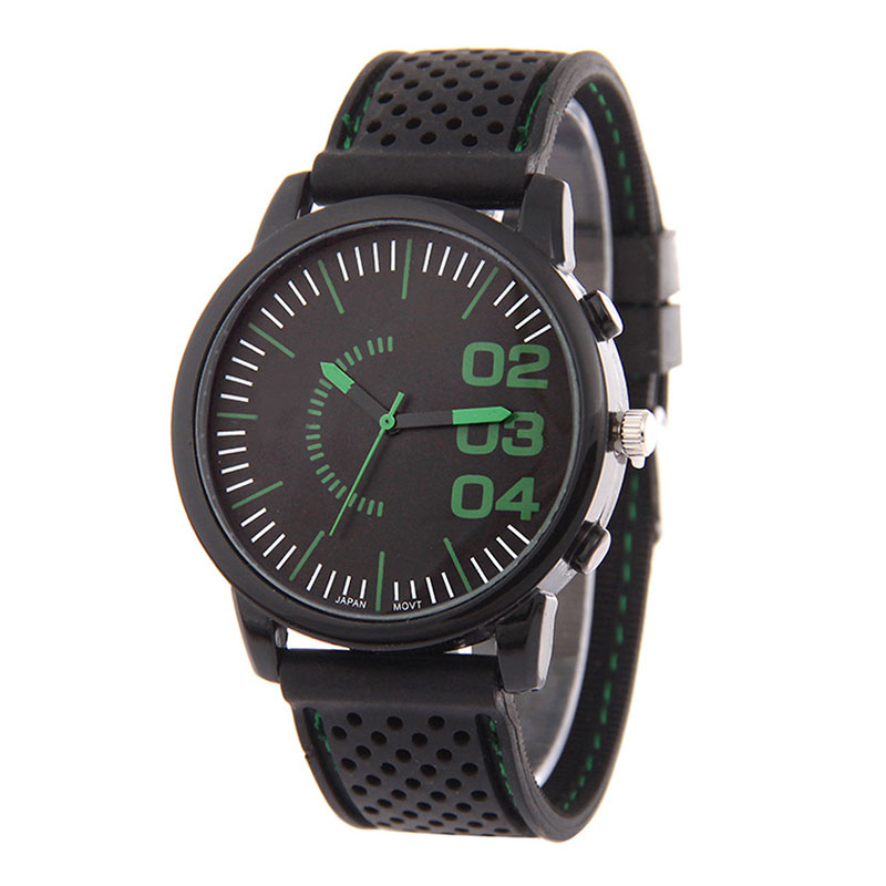 Vogue Silicon Watch For Men With Quartz Movement